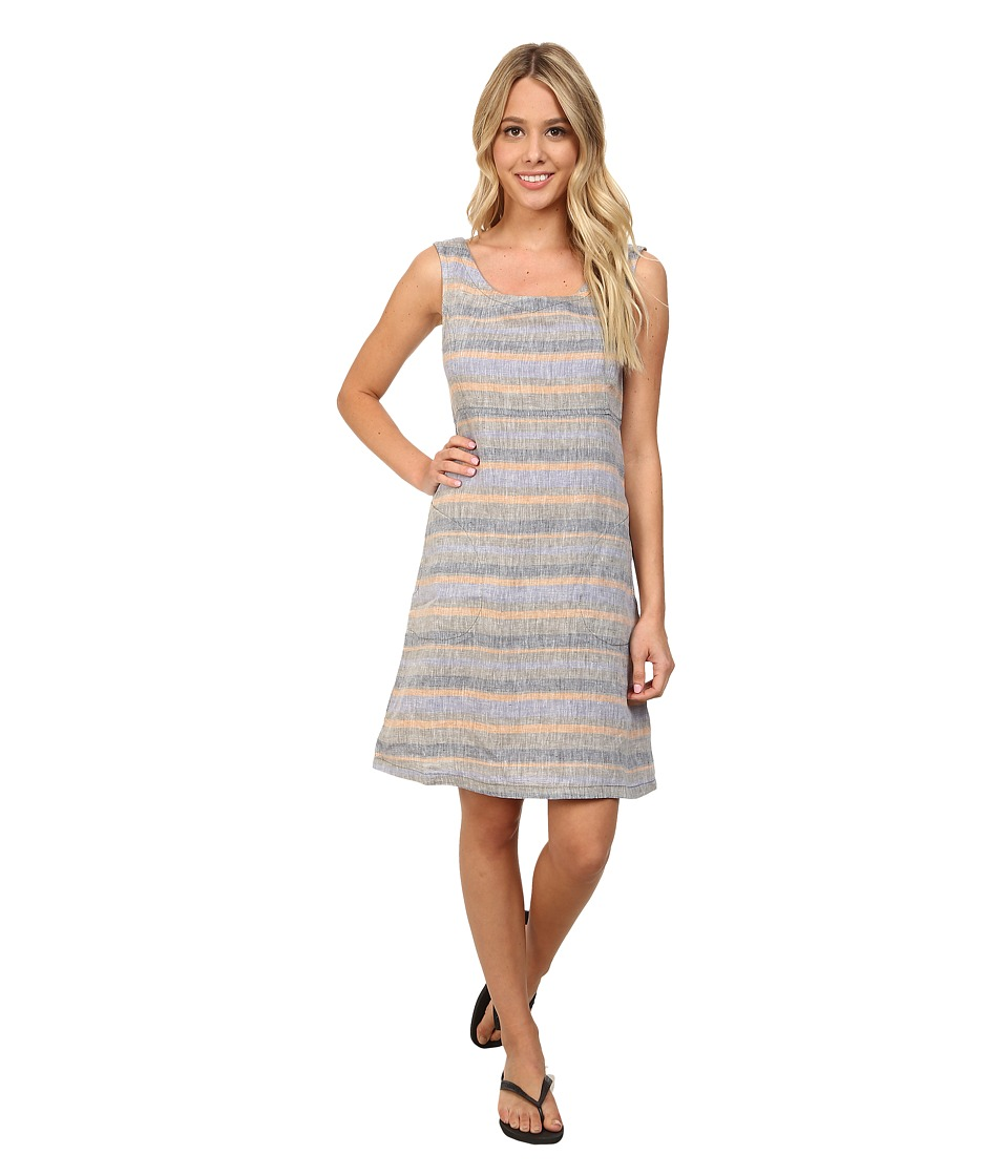 Toad&Co - Linette Dress (Copper Stripe) Women's Dress