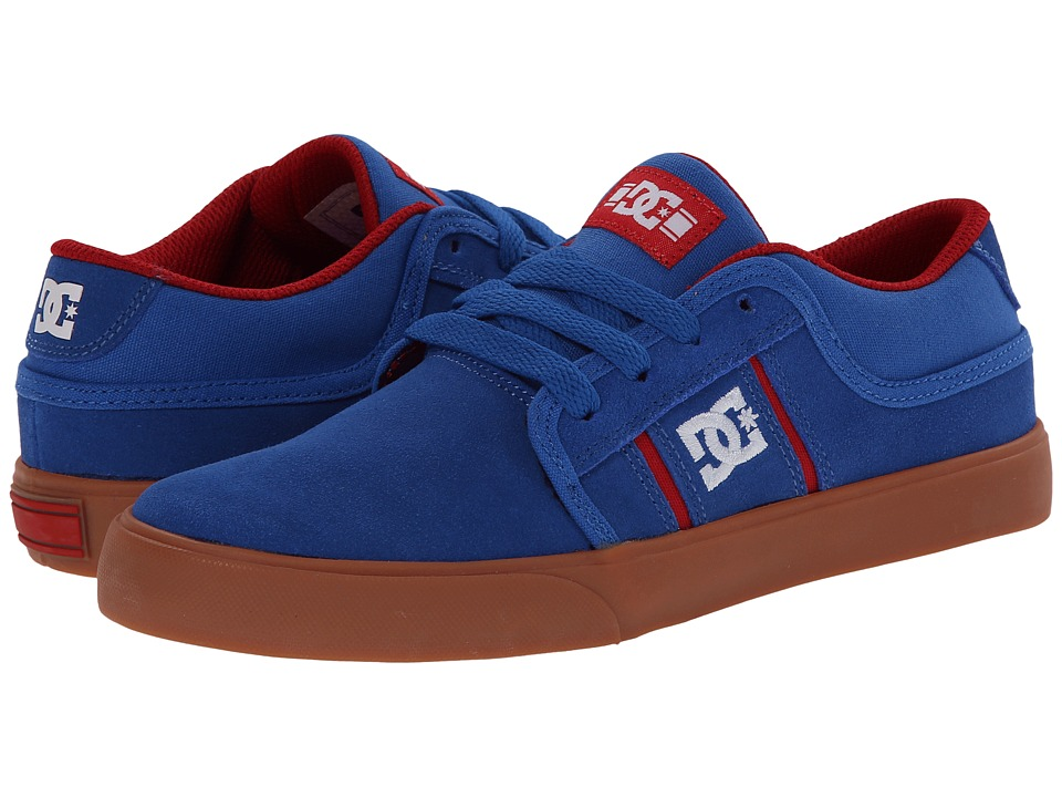 DC Kids - RD Grand (Big Kid) (Blue/Red) Boys Shoes
