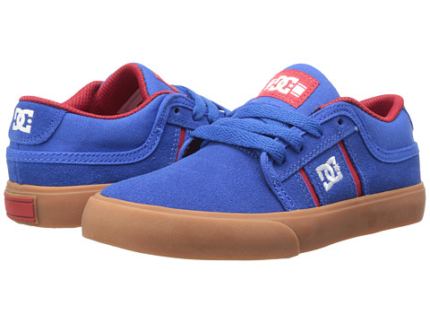 DC Kids - RD Grand (Little Kid) (Blue/Red) Boys Shoes