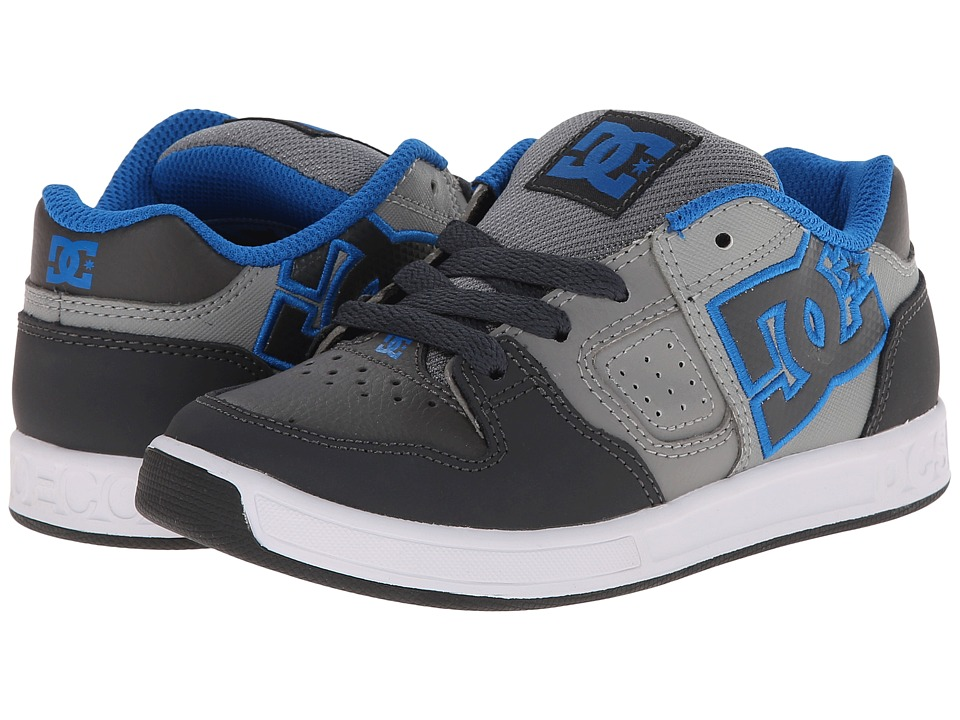 DC Kids - Sceptor (Big Kid) (Grey/Grey/Grey) Boys Shoes