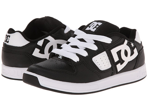 DC Kids - Sceptor (Little Kid) (Black/Black/White Multi Snake) Boys Shoes