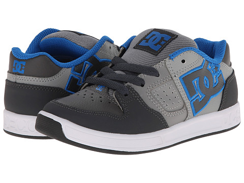 DC Kids - Sceptor (Little Kid) (Grey/Grey/Grey) Boys Shoes