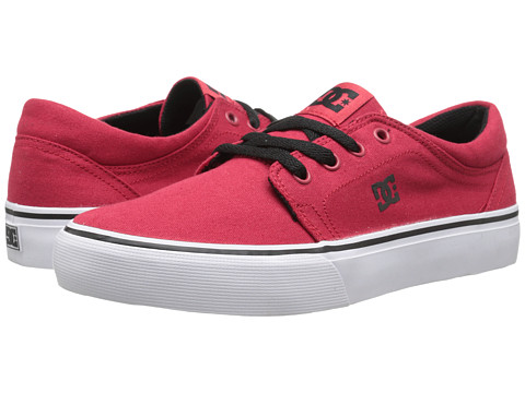 DC Kids - Trase TX (Big Kid) (Athletic Red) Kids Shoes