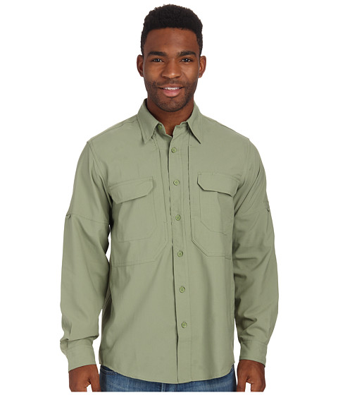 Royal Robbins - Expedition Stretch L/S (Artichoke) Men's Long Sleeve Button Up