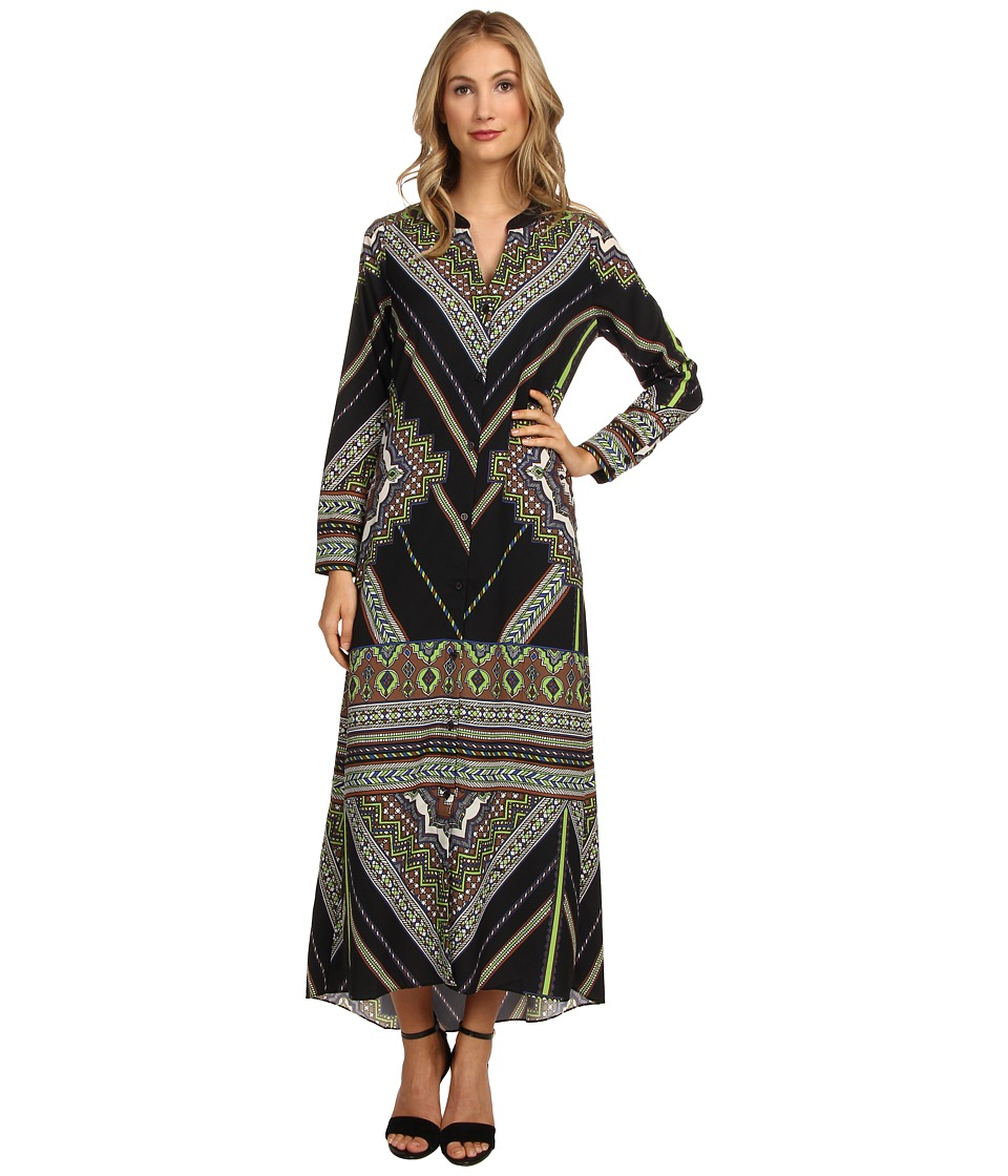 Hale Bob - Chic Sophisticate Maxi Dress (Black) Women's Dress