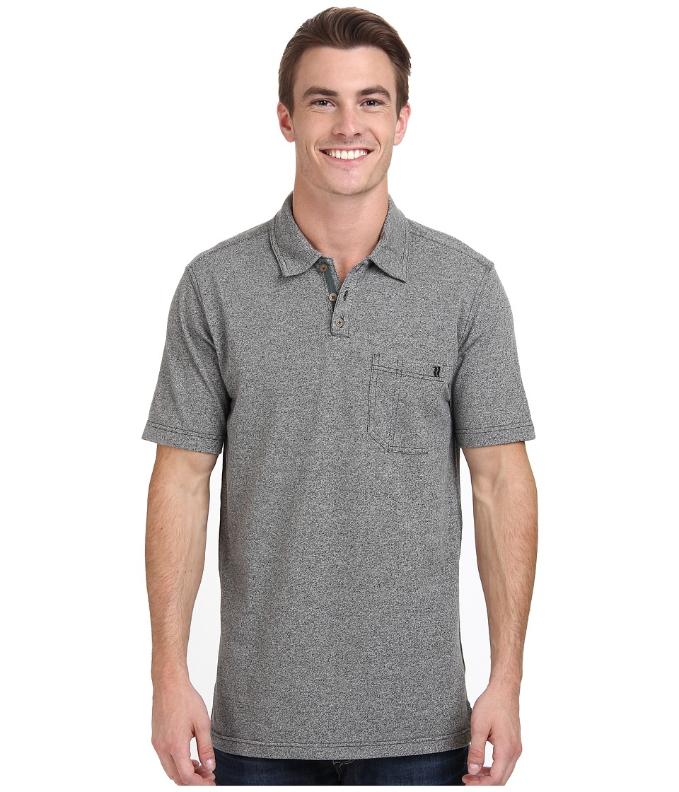 Royal Robbins - Royal Polo (Charcoal) Men's Short Sleeve Knit