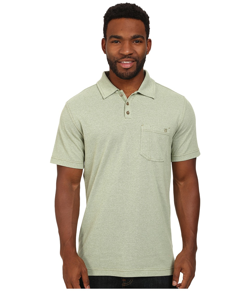 Royal Robbins - Royal Polo (Artichoke) Men's Short Sleeve Knit