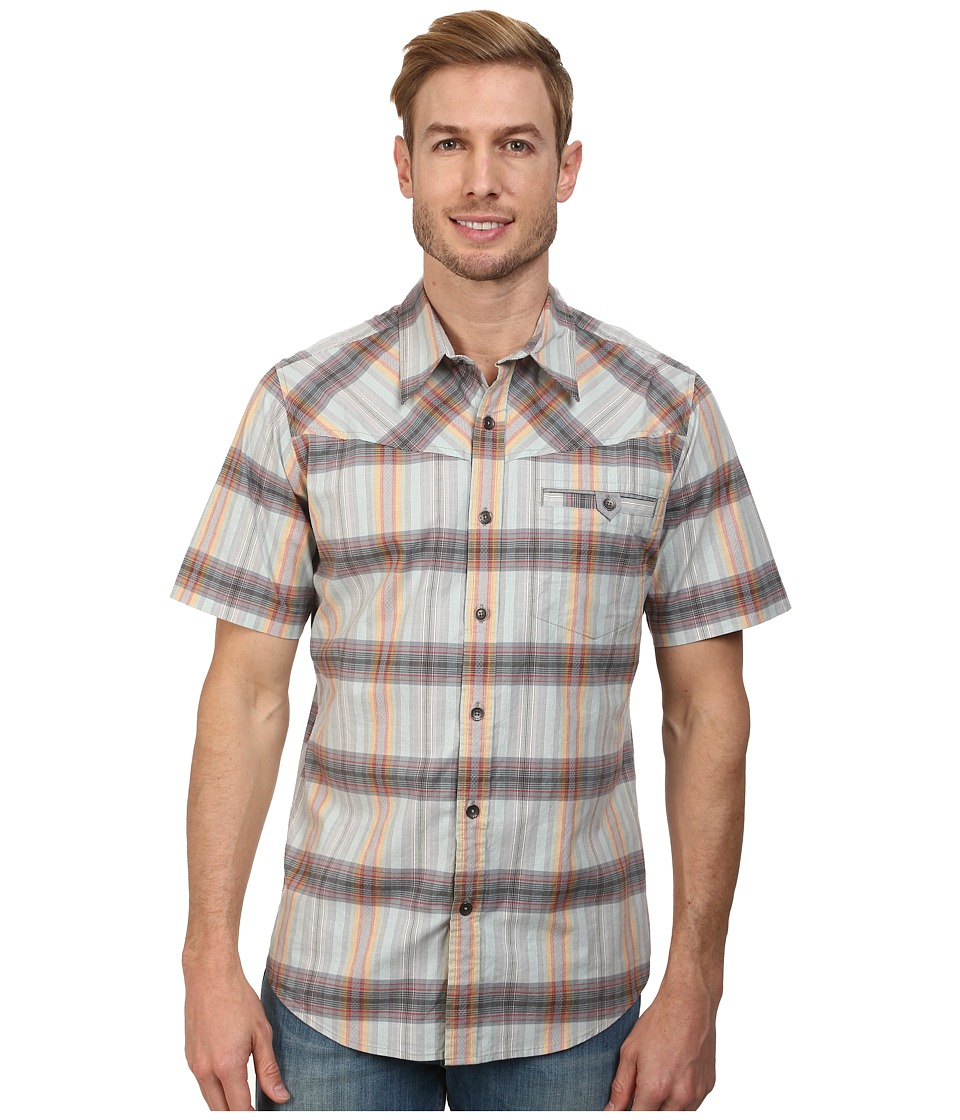 Royal Robbins - Drifter Dobby S/S (Obsidian) Men's Short Sleeve Button Up