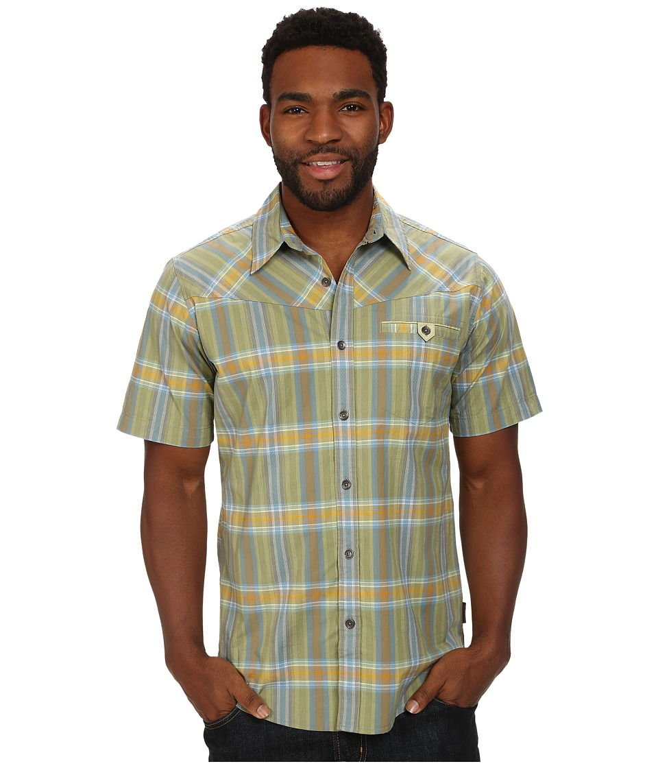 Royal Robbins - Drifter Dobby S/S (Celery) Men's Short Sleeve Button Up