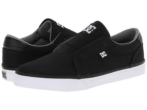 DC Kids - Council Slip TX (Big Kid) (Black/Wild Dove) Boys Shoes