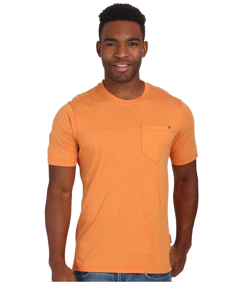 Royal Robbins - Organic Jersey S/S Crew (Mandarin) Men's Short Sleeve Pullover
