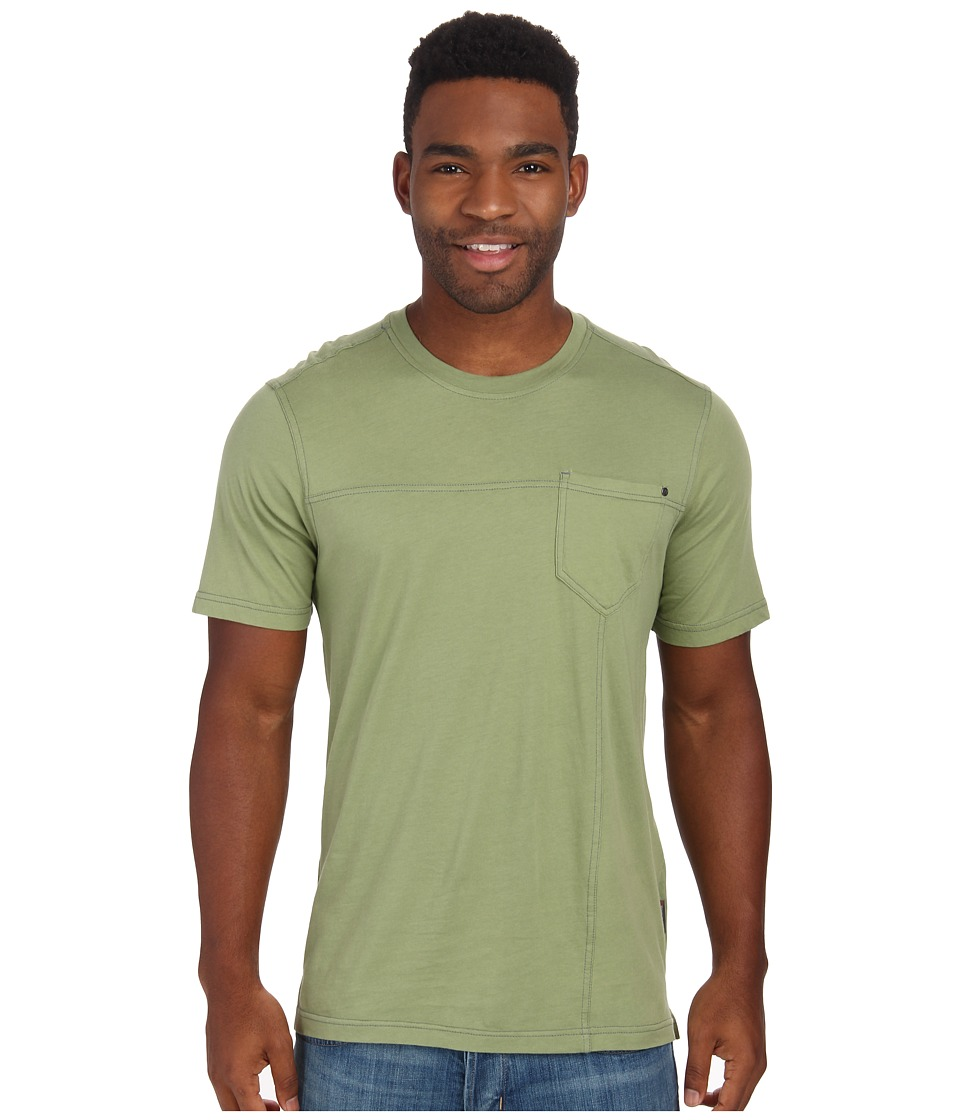 Royal Robbins - Organic Jersey S/S Crew (Artichoke) Men's Short Sleeve Pullover