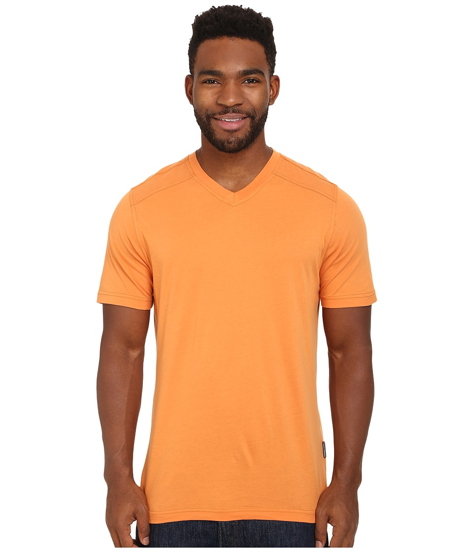 Royal Robbins - Organic Jersey S/S V-Neck (Mandarin) Men