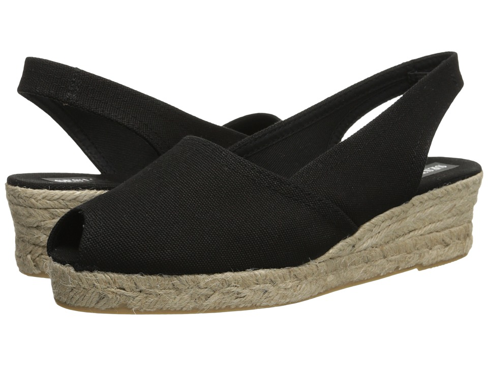 Sesto Meucci 838 (Black Pique Fabric) Women