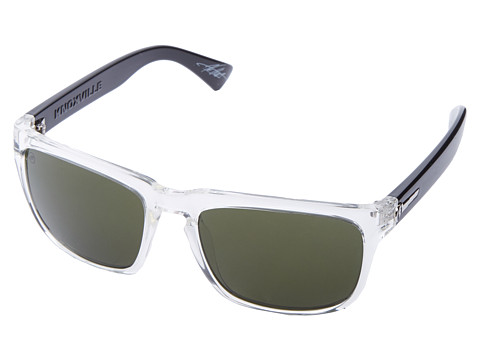 Electric Eyewear - Knoxville (Black Crystal/M Grey) Sport Sunglasses