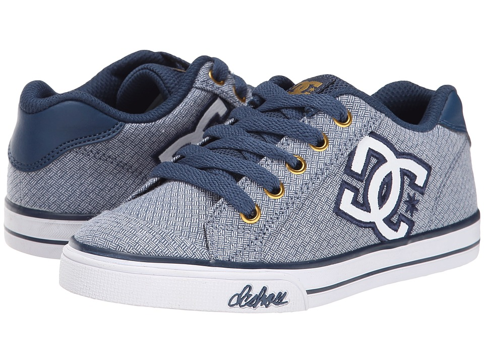 DC Kids - Chelsea TX SE (Big Kid) (Denim) Girls Shoes