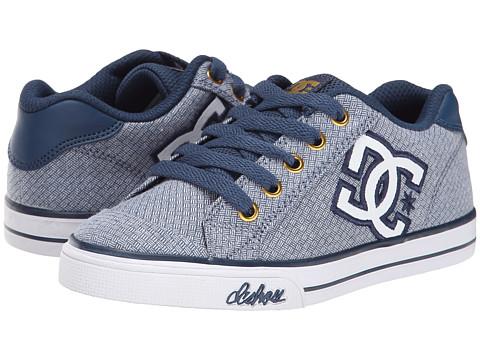 DC Kids - Chelsea TX SE (Big Kid) (Denim) Girls Shoes