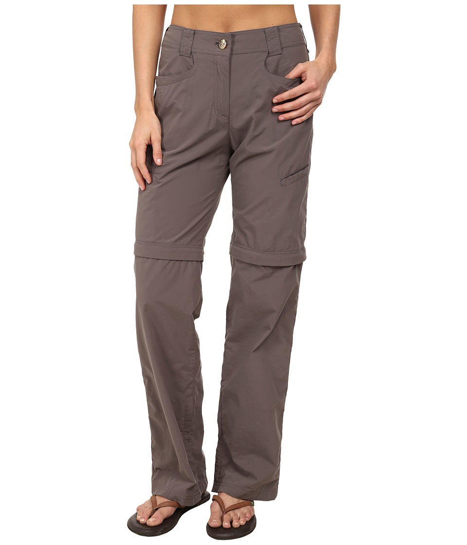 ExOfficio - BugsAway Ziwa Convertible Pant (Slate) Women's Casual Pants