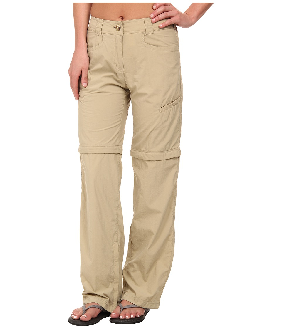 ExOfficio - BugsAway Ziwa Convertible Pant (Light Khaki) Women's Casual Pants