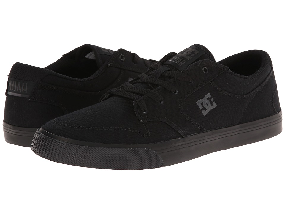DC - Nyjah Vulc TX (Black/Black/Black) Men's Skate Shoes