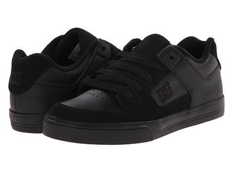 DC Kids - Pure (Big Kid) (Black/Black) Boys Shoes