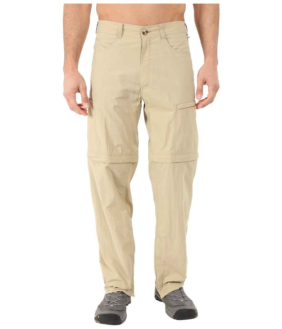 ExOfficio - BugsAway Ziwa Convertible Pants (Light Khaki) Men's Casual Pants