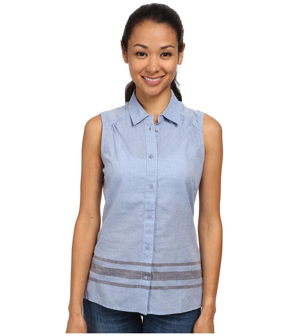 Toad&Co - Rizzo Sleeveless Stripe Shirt (Berber Blue) Women