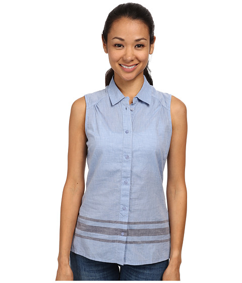 Toad&Co - Rizzo Sleeveless Stripe Shirt (Berber Blue) Women