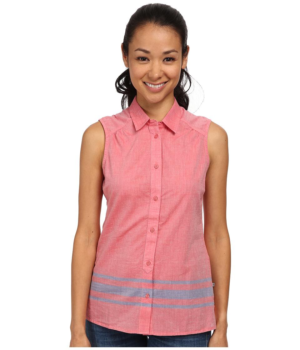 Toad&Co - Rizzo Sleeveless Stripe Shirt (Hibiscus) Women