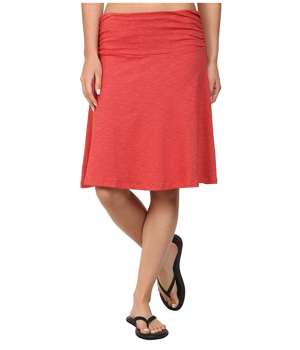Toad&Co - Chaka Skirt (Hibiscus) Women's Skirt