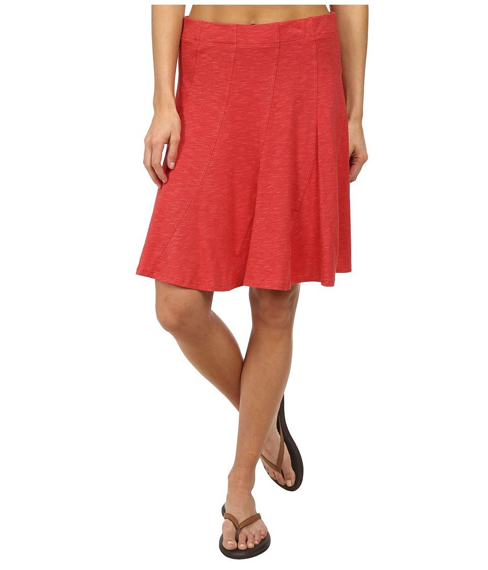 Toad&Co - Chachacha Skirt (Hibiscus) Women's Skirt