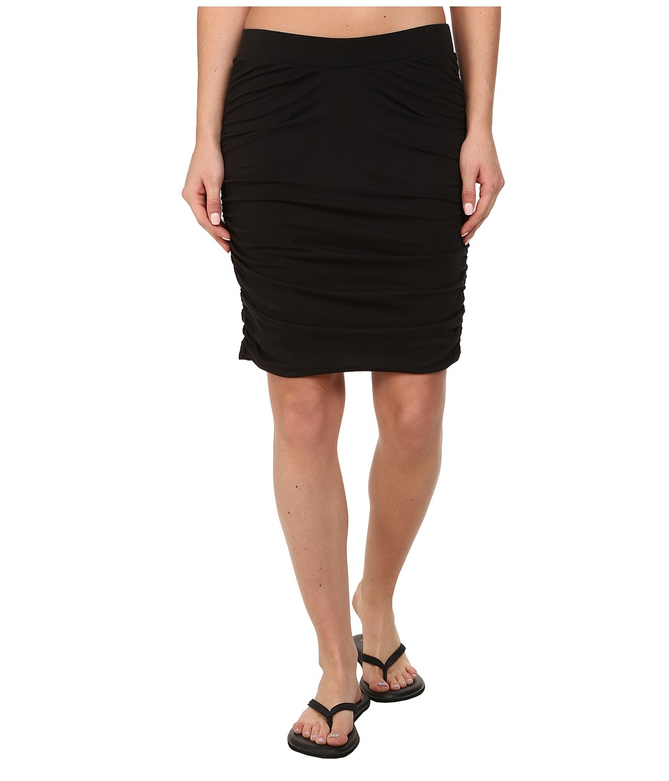 Toad&Co - Shirred Thing Skirt (Black) Women's Skirt