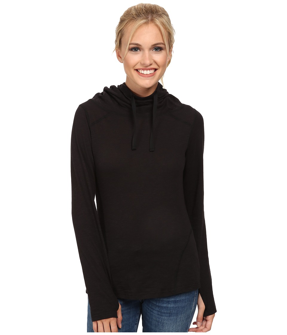 ExOfficio - Techspressa Pullover Hoodie (Black) Women's Sweatshirt