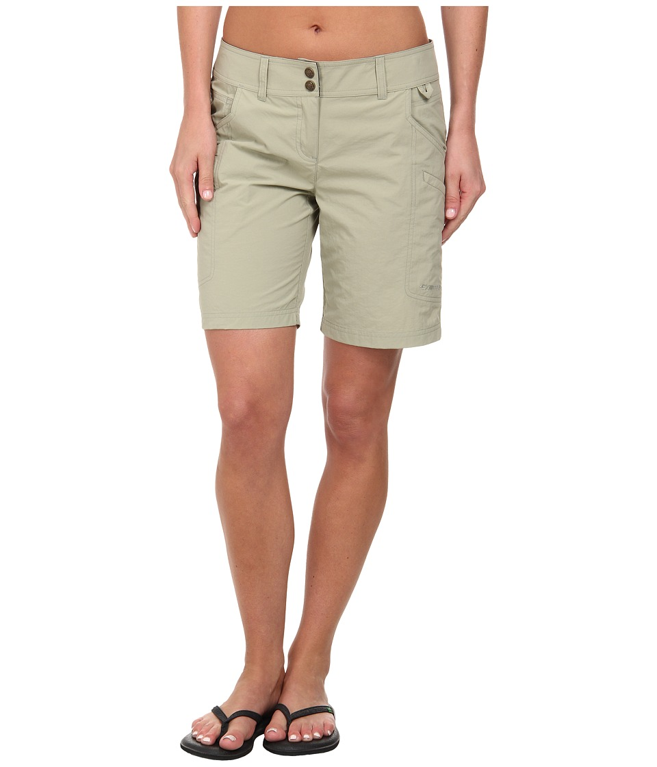 ExOfficio - Nomad Short (Light Khaki) Women's Shorts