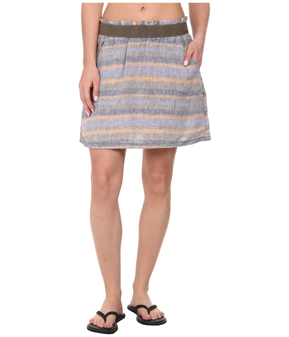 Toad&Co Linette Skirt (Copper Stripe) Women