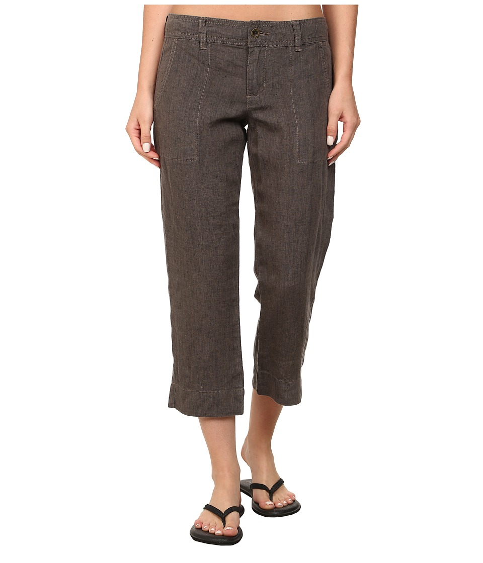Toad&Co Lithe Capri (Falcon Brown) Women