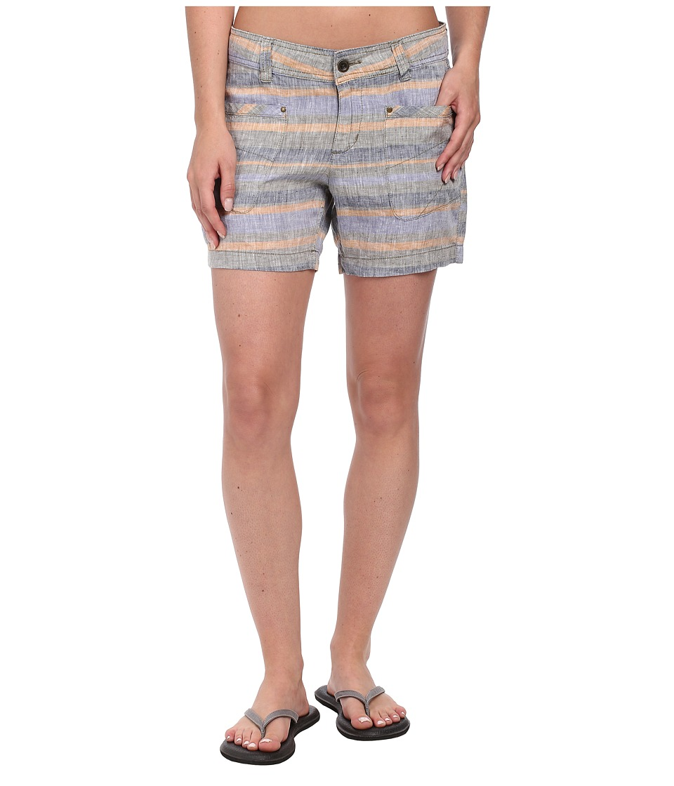 Toad&Co - Farflung Short (Copper Stripe) Women's Shorts