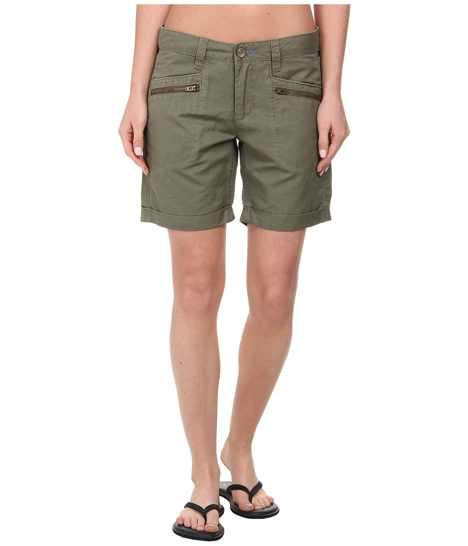 Toad&Co - Swept Away Short (Dusty Olive) Women's Shorts