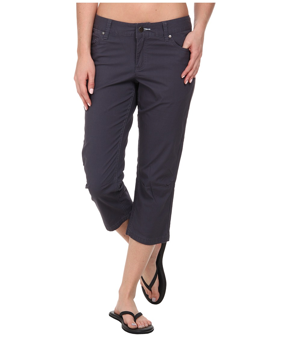 Toad&Co - Petrograph Crop (Blue Steel) Women's Casual Pants