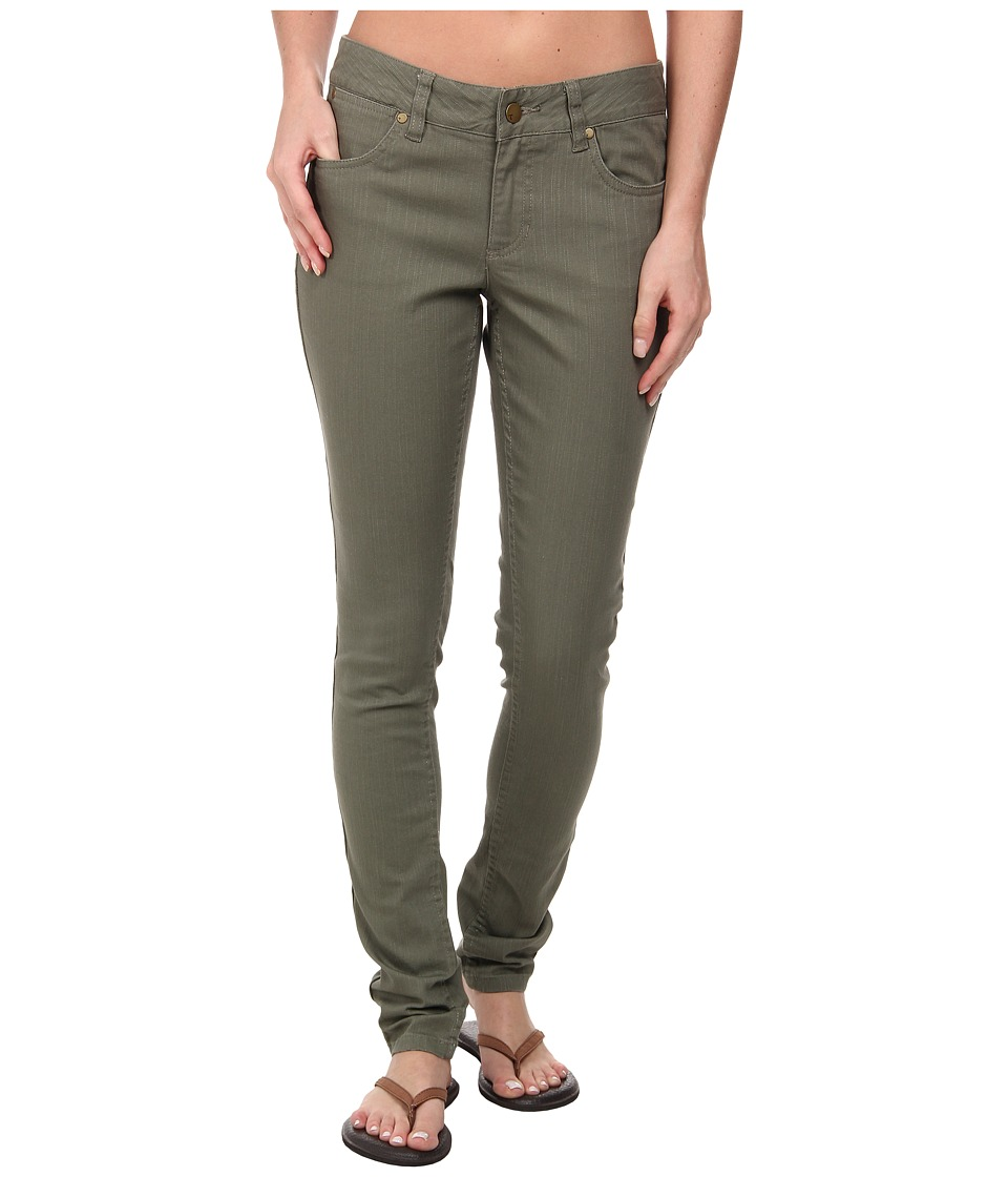 Toad&Co - Sisko Slim Pant (Dusty Olive) Women's Casual Pants