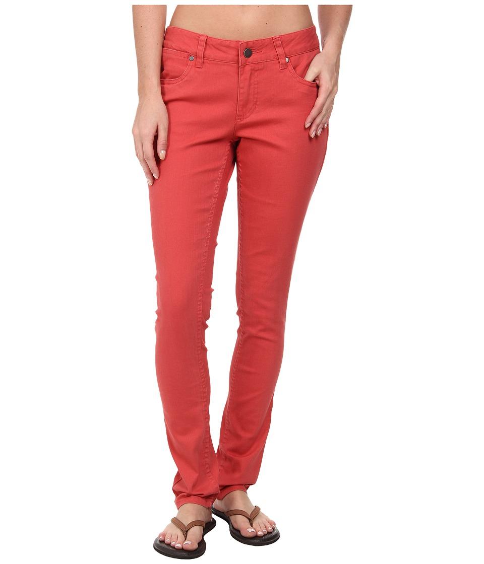 Toad&Co - Sisko Slim Pant (Hibiscus) Women's Casual Pants