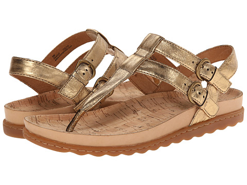 Born - Reta (Antique Gold Metallic) Women's Sandals