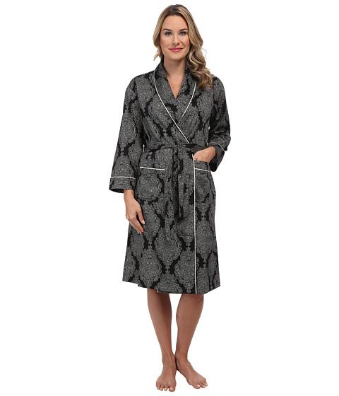 BedHead - Classic Robe (Black Mandala) Women's Robe