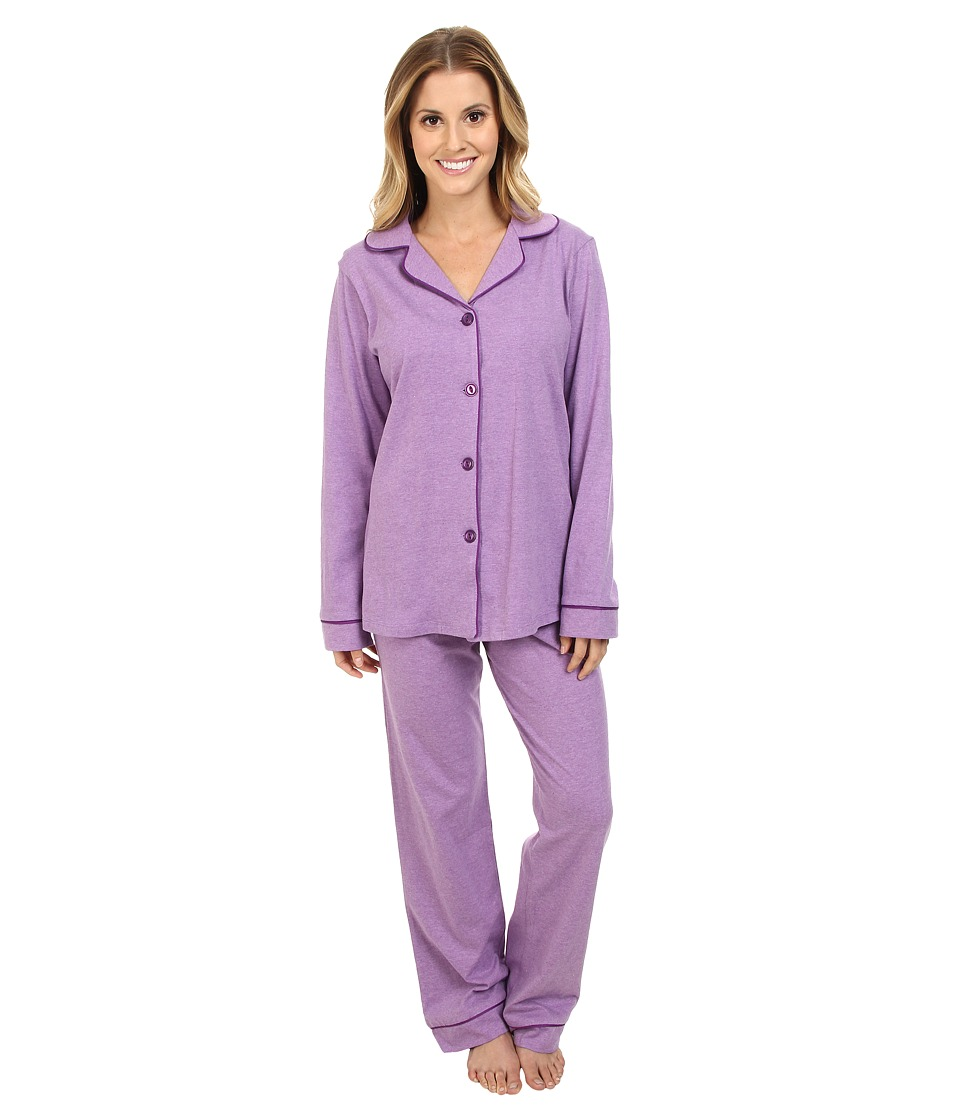 BedHead - Classic Stretch PJ (Purple Heathered) Women's Pajama Sets