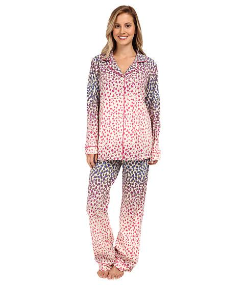 BedHead - Ombre Leopard Stretch Classic PJ (Multi Ombre Leopard) Women's Pajama Sets