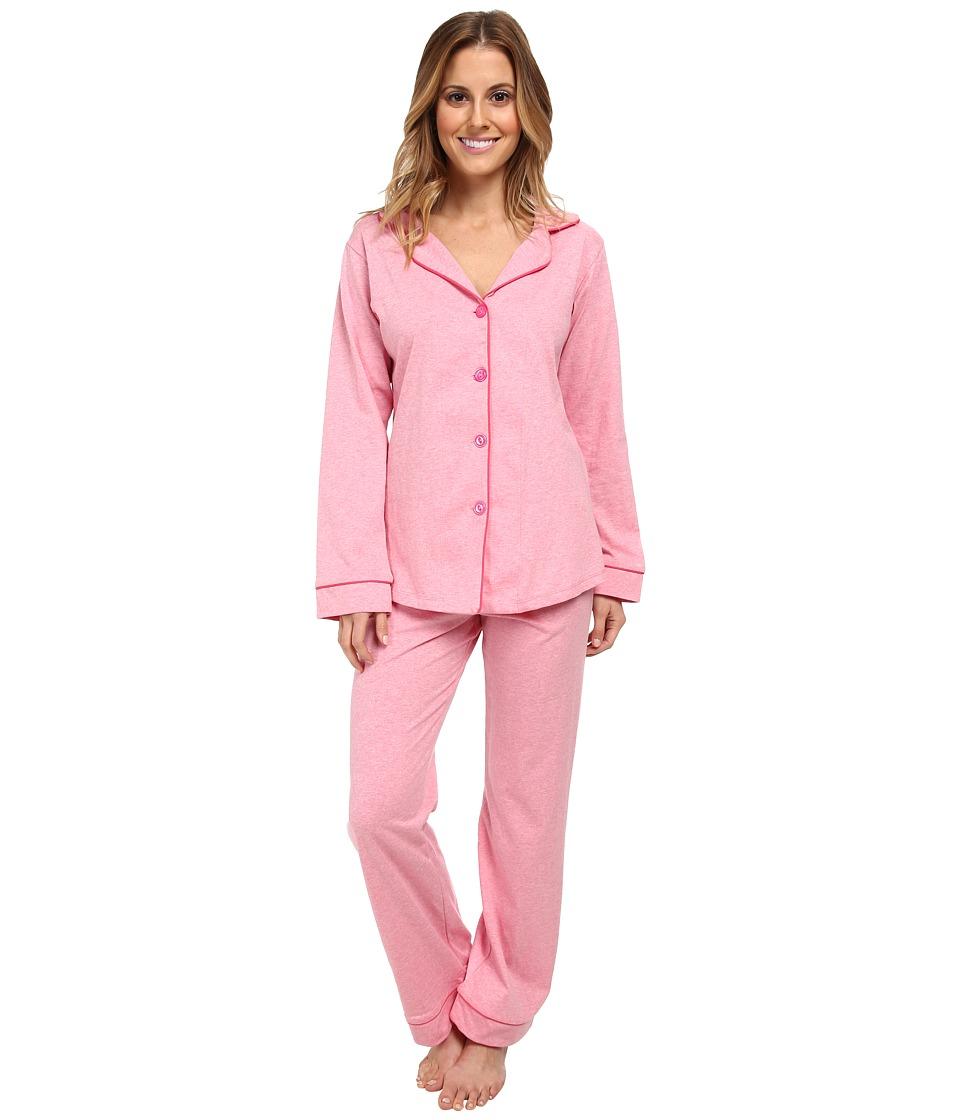 BedHead - Classic Stretch PJ (Pink Heathered) Women's Pajama Sets