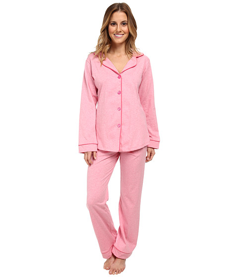 BedHead - Classic Stretch PJ (Pink Heathered) Women's Pajama Sets