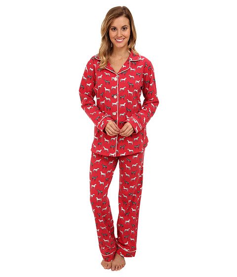BedHead - Classic Stretch PJ (Red Year of the Horse) Women's Pajama Sets