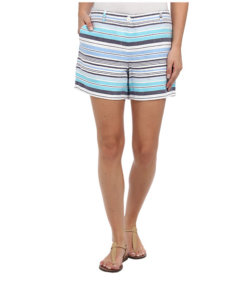 Tommy Bahama - Horizon Sail Stripe Short (Clear Ocean) Women