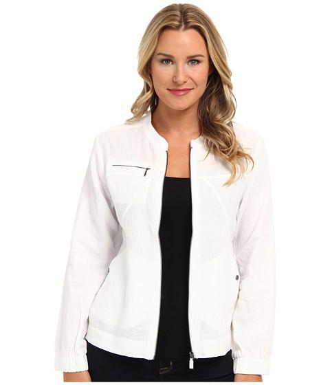 Tommy Bahama - Two Palms Seamed Jacket (White) Women's Coat